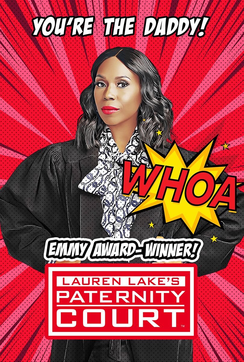 Emmy Award-Winner! Lauren Lake's Paternity Court